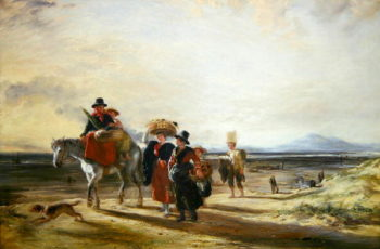 Barmouth Sands 1835 | William Collins | oil painting