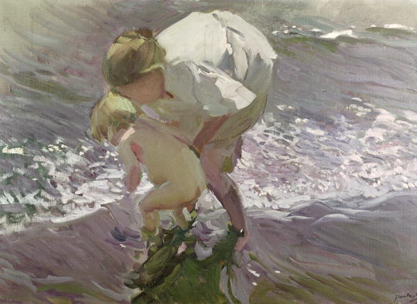 Bathing on the Beach 1908 | Joaquin Sorolla y Bastida | oil painting