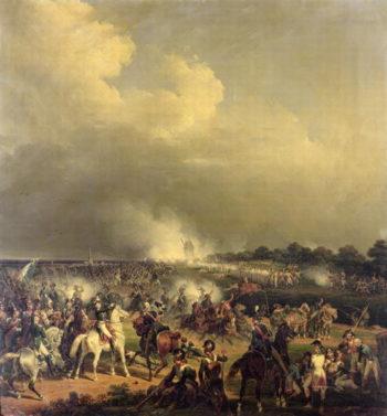 Battle of Boussu 3rd November 1792 1845 | Hippolyte Lecomte | oil painting