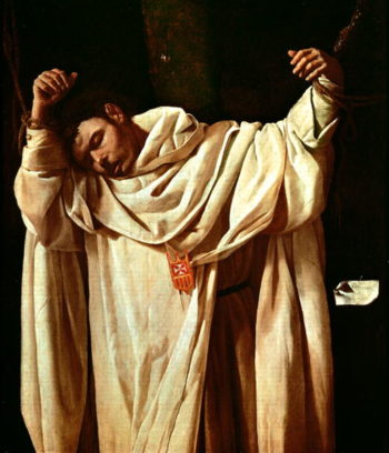 Beato Serapio 1628 | Francisco de Zurbaran | oil painting