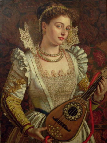 Bianca | William Holman Hunt | oil painting