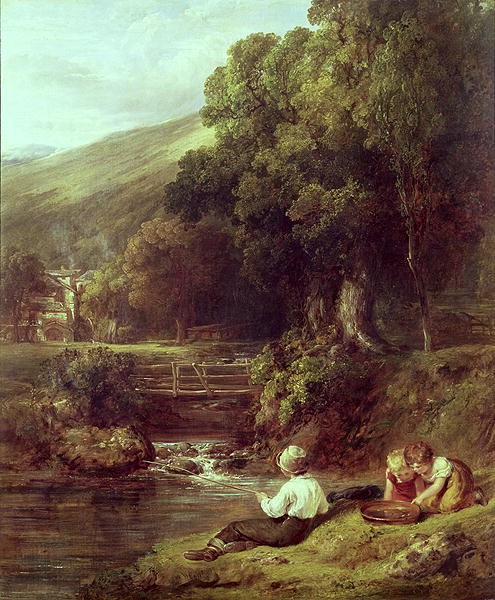 Borrowdale 1821 | William Collins | oil painting