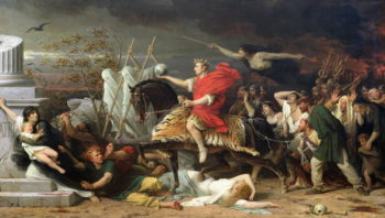 Caesar 1875 | Adolphe Yvon | oil painting