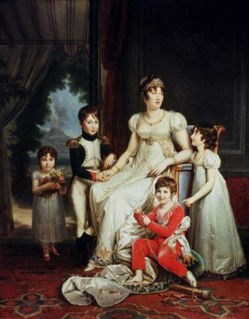 Caroline Bonaparte | Francois Pascal Simon Baron Gerard | oil painting