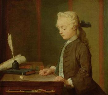 Child with a Teetotum 1738 | Jean Baptiste Simeon Chardin | oil painting