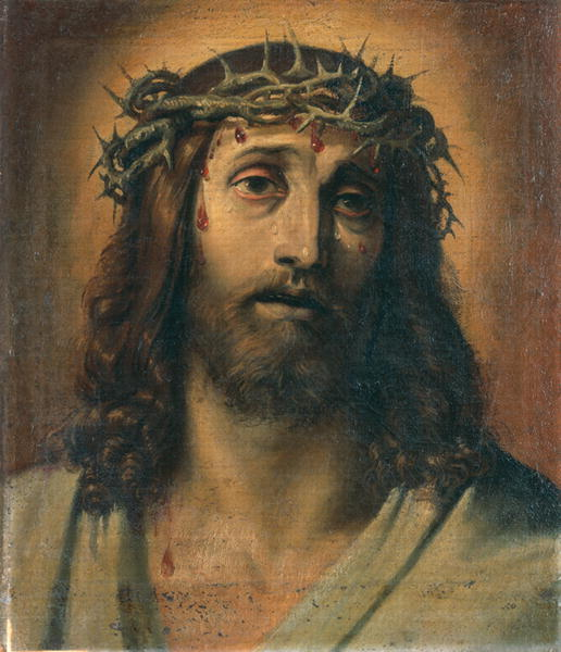 Christ crowned with thorns | Annibale Carracci | oil painting