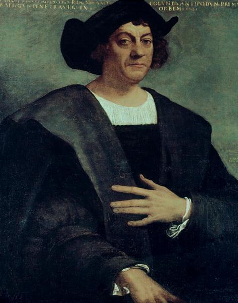 Christopher Columbus | Sebastiano del Piombo | oil painting
