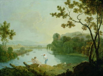 Classical Landscape | Richard Wilson | oil painting