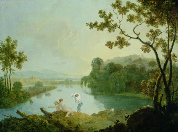 Classical Landscape | Richard Wilson | oil painting