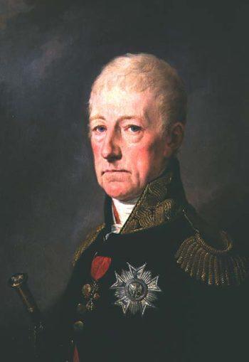 Count Wenzei Anton von Kaunitz | Josef Kreutzinge | oil painting