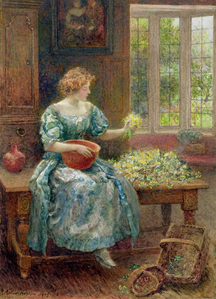 Cowslip Wine 1909 | Arthur Hopkins | oil painting