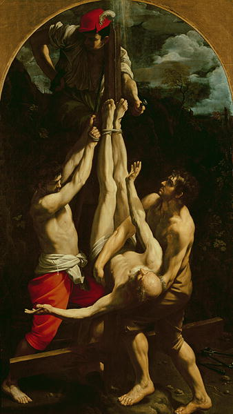 Crucifixion of St Peter | Guido Reni | oil painting