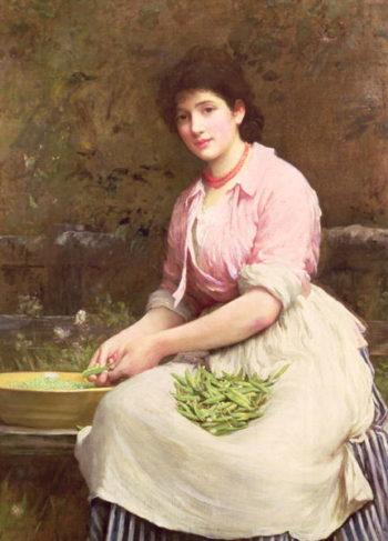 Dolly | Sir Samuel Luke Fildes | oil painting