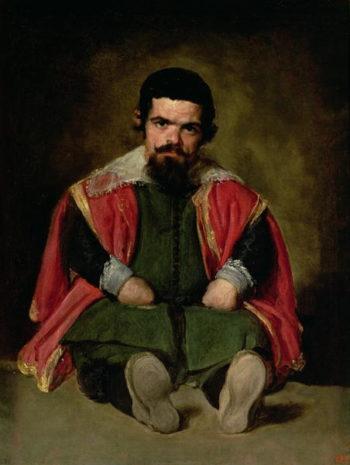 Don Sebastian de Morra 1643 44 | Diego Rodriguez de Silva y Velasquez | oil painting
