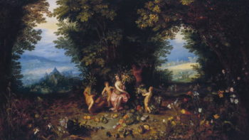 Earth Allegories of the Four Elements | Jan the Elder Brueghel | oil painting