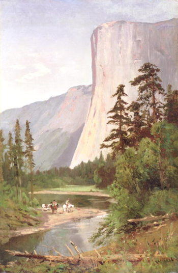 El Capitan Yosemite Valley | William Keith | oil painting