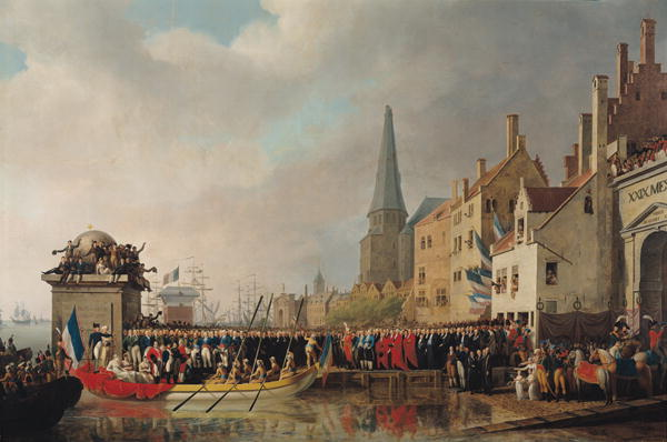 Entry of Bonaparte as First Consul 1807 | Mathieu Ignace van Bree | oil painting