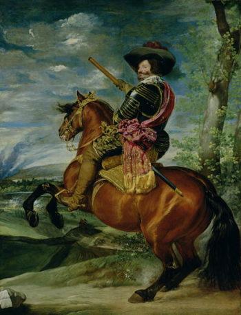 Equestrian Portrait of Don Gaspar de Guzman | Diego Rodriguez de Silva y Velasquez | oil painting