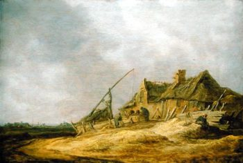 Farmstead 1632 | Jan Josephsz van Goyen | oil painting