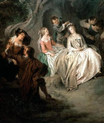 Fete Champetre | Jean Baptiste Joseph Pater | oil painting