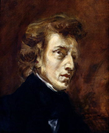 Frederic Chopin | Delacroix | oil painting