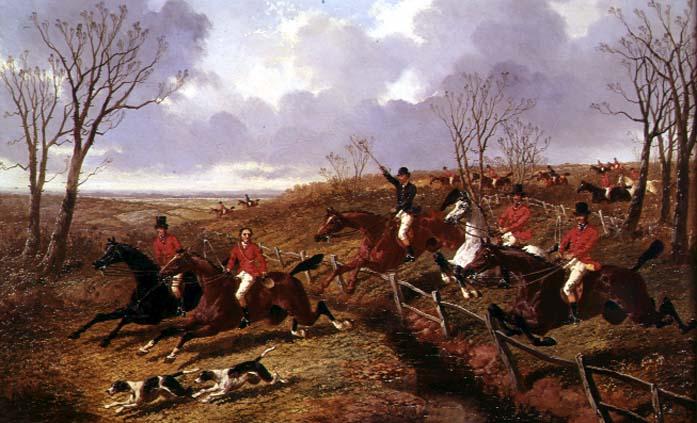 Full Cry | John Frederick Herring Jnr | oil painting