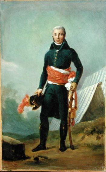 General Jean Victor Moreau | Francois Pascal Simon Baron Gerard | oil painting