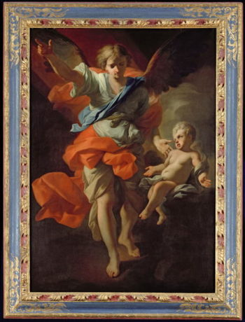 Guardian Angel 1685 94 | Andrea Pozzo | oil painting
