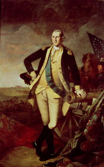 George Washington at Princeton 1779 | Charles Willson Peale | oil painting