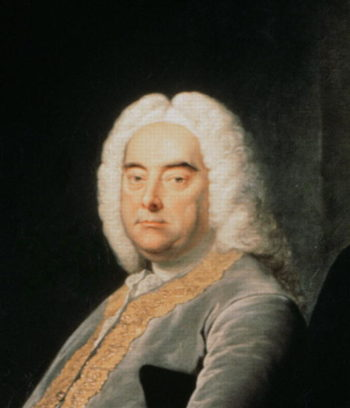 George Frederick Handel | Thomas Hudson | oil painting
