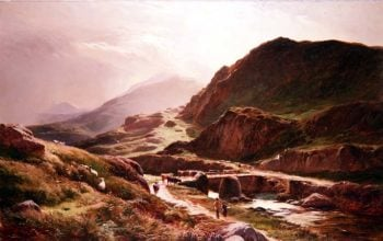 Highland scene | Sidney Richard Percy | oil painting