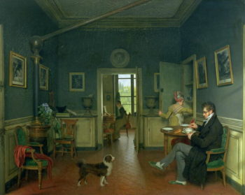Interior of a Dining Room 1816 | Martin Drolling | oil painting