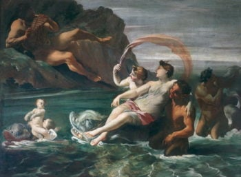 Galatea and Polyphemus | Giovanni Lanfranco | oil painting