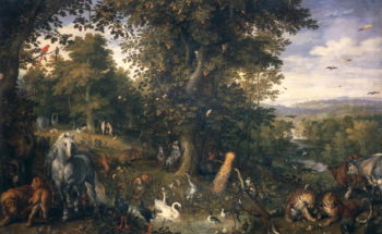 Garden of Eden | Jan the Elder Brueghel | oil painting