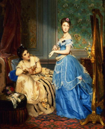 Getting Dressed 1869 | Charles Edouard Boutibonne | oil painting