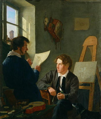 Hermann Kauffmann and Georg Haeselich | Hermann Kauffmann | oil painting