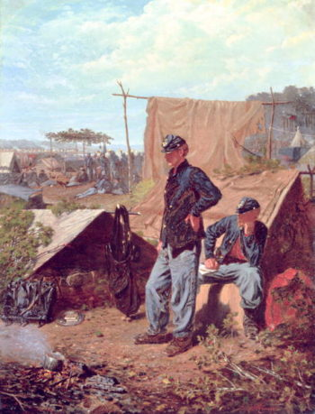 Home Sweet Home | Winslow Homer | oil painting