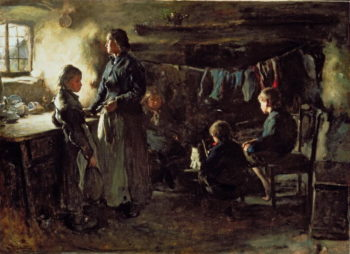Hope 1883   Frank Holl   oil painting