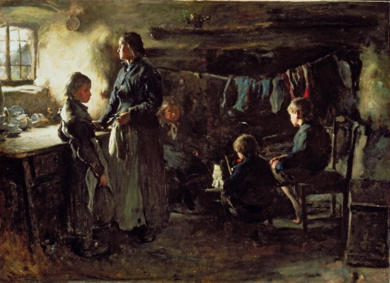 Hope 1883 | Frank Holl | oil painting