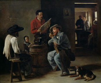 Interior of a Tavern 1859 | Francois Bonvin | oil painting