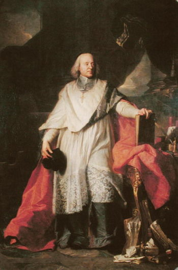 Jacques Benigne Bossuet | Hyacinthe Rigaud | oil painting