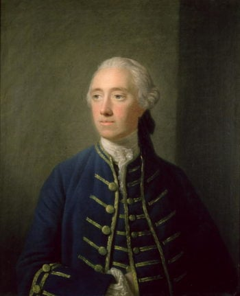 James Fitzgerald | Allan Ramsay | oil painting