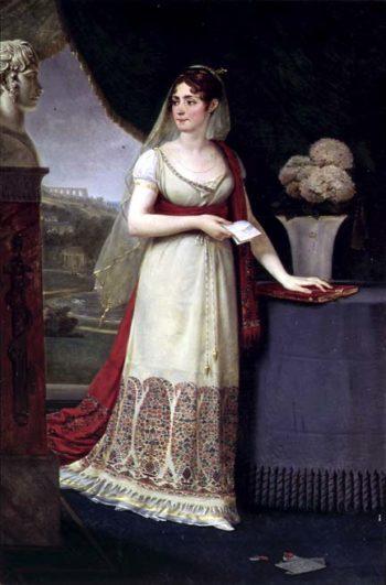Josephine Tasher de la Pagerie | Baron Antoine Jean Gros | oil painting
