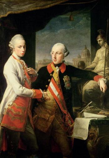 Kaiser Joseph II | Pompeo Girolamo Batoni | oil painting