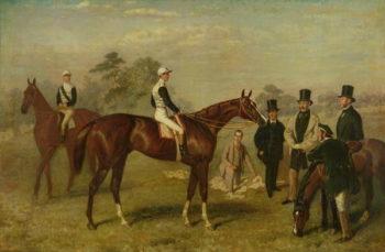 Kettledrum' 1861 62 | Harry Hall | oil painting