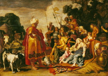 Laban Searching for the Idols | Pieter Lastman | oil painting
