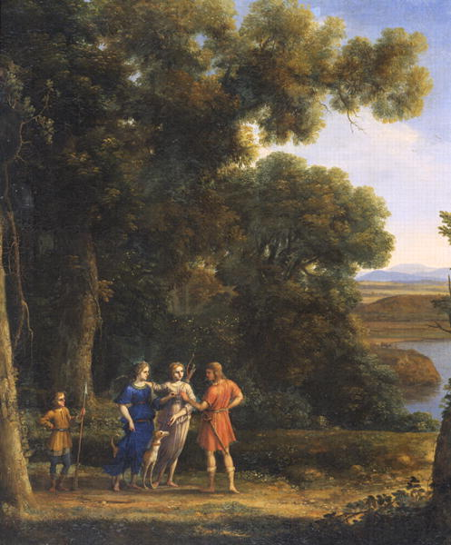 Landscape with Figures | Claude Lorrain | oil painting
