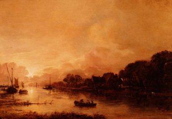 Landscape | Aert van der Neer | oil painting