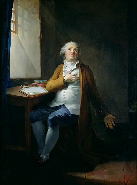 Louis XVI   Henri Pierre Danloux   oil painting