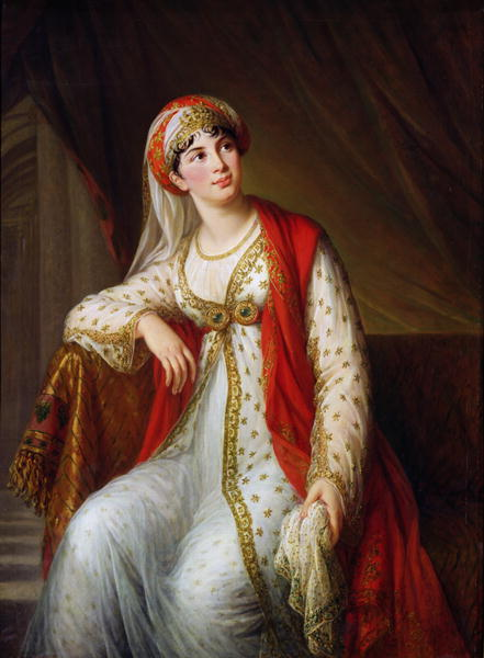 Madame Guiseppina Grassini | Elisabeth Louise Vigee Lebrun | oil painting